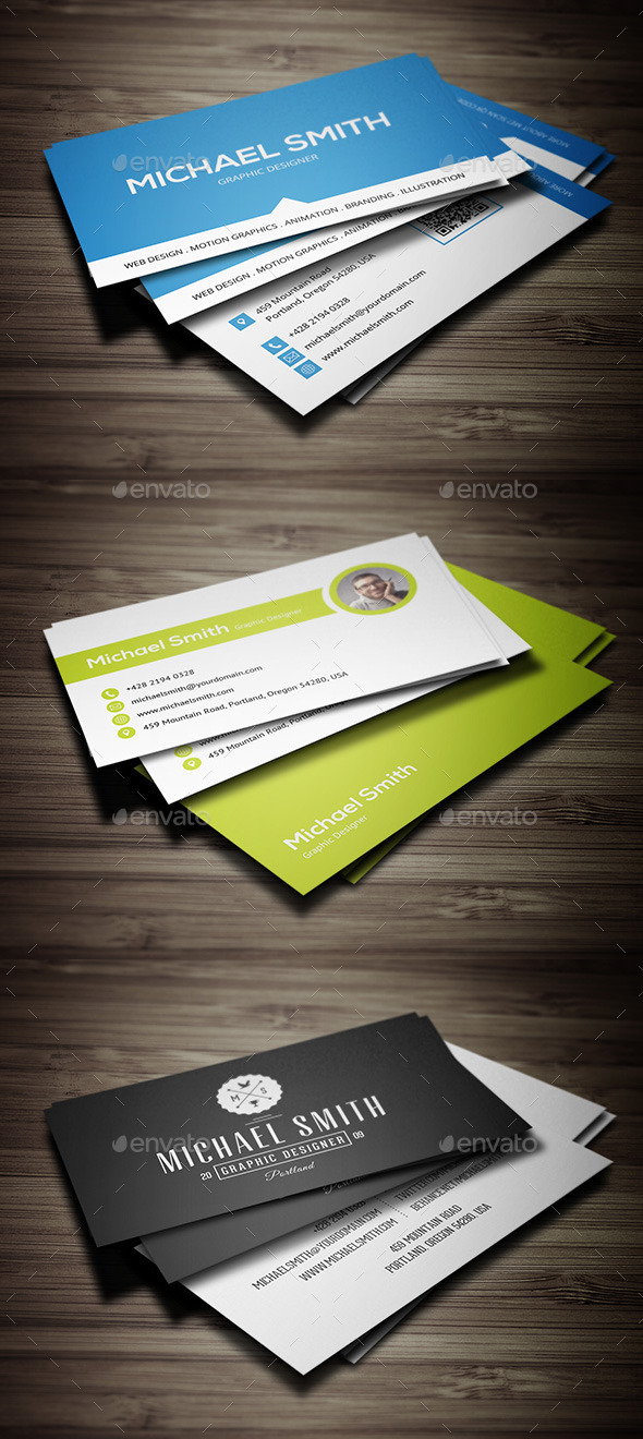 GraphicRiver Business Cards Bundle 9562469