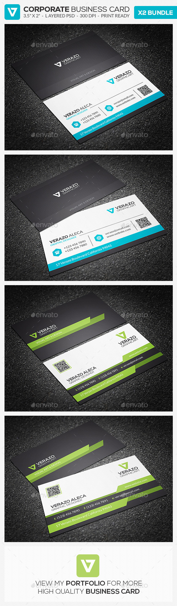 GraphicRiver Business Card Bundle 11 9589877