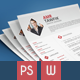 Simple & Clean Resume + Portfolio + Cover Letter - GraphicRiver Item for Sale