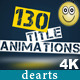 130 Title Animations - VideoHive Item for Sale