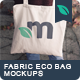 Fabric Eco Bag Mockups - GraphicRiver Item for Sale