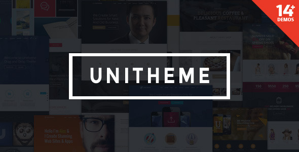 ThemeForest UniTheme Responsive Multi-Purpose Theme 9518921