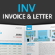 Inv Invoice And Letter Template - GraphicRiver Item for Sale