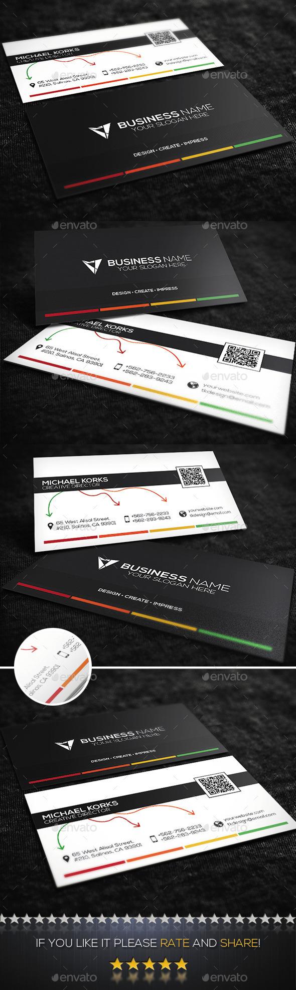 GraphicRiver Creative Business Card No.08 9590710