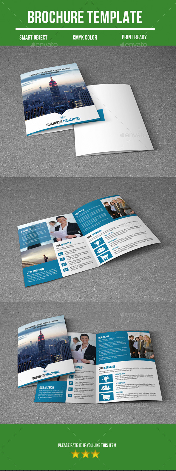 GraphicRiver Business Bi-Fold Brochure 9590718