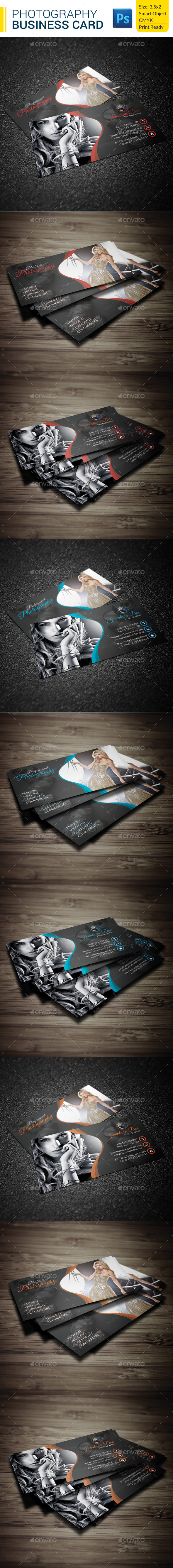 GraphicRiver Photography Business Card 9590794