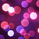 Colorful Particles Bokeh Abstract Background