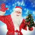 Santa Claus with Christmas Tree - PhotoDune Item for Sale
