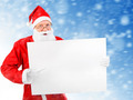 Santa Claus with Blank Board - PhotoDune Item for Sale