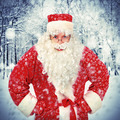 Santa Claus in Winter Forest - PhotoDune Item for Sale
