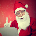 Santa Claus reads a Letter - PhotoDune Item for Sale