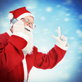 Santa Claus with Cellphone - PhotoDune Item for Sale