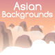 Asian Backgrouds - GraphicRiver Item for Sale
