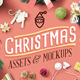 Christmas Assets And Mock Ups - GraphicRiver Item for Sale
