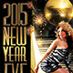 2015 New Year Eve Flyer Template