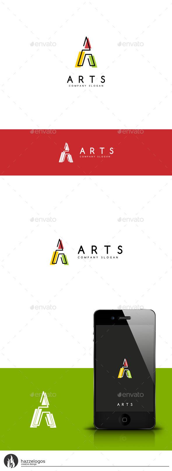 GraphicRiver Arts Logo 9592079