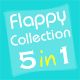 01Smile Flappy Games Collection 1 (5 in 1)