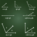 Mathematical Angles Signs - PhotoDune Item for Sale