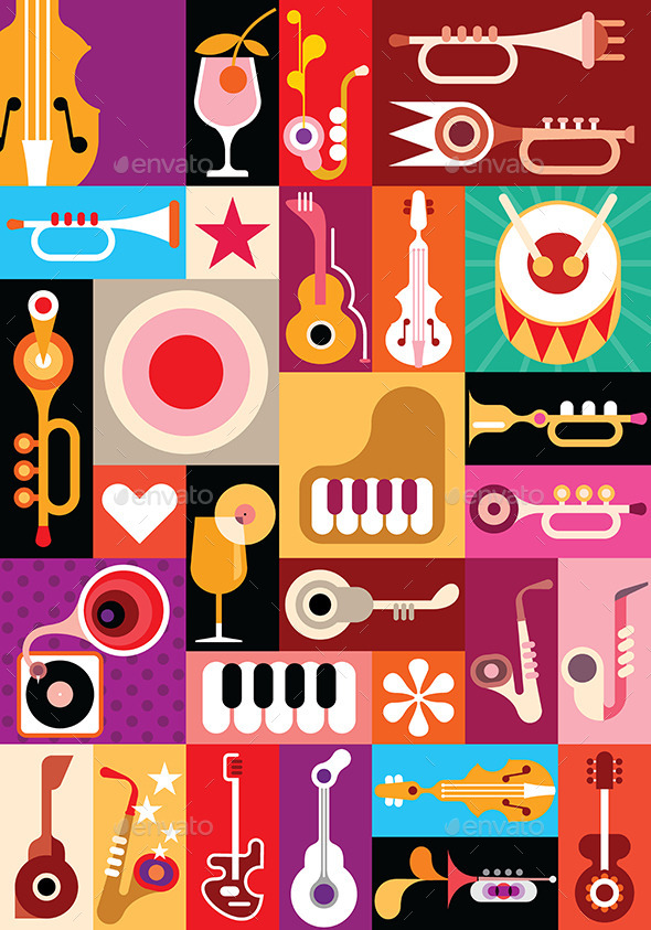 GraphicRiver The Music 9592666