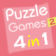 01Smile Puzzle Game Collection 2 (4 in 1) - CodeCanyon Item for Sale