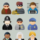 Law & Crime icons - GraphicRiver Item for Sale