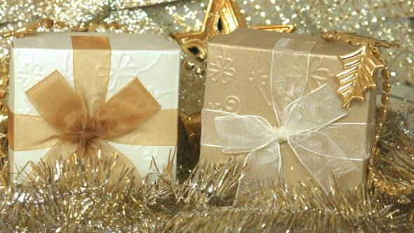 Gift Box And Christmas Decoration 04