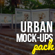 Urban Mock-Ups Template Pack - GraphicRiver Item for Sale