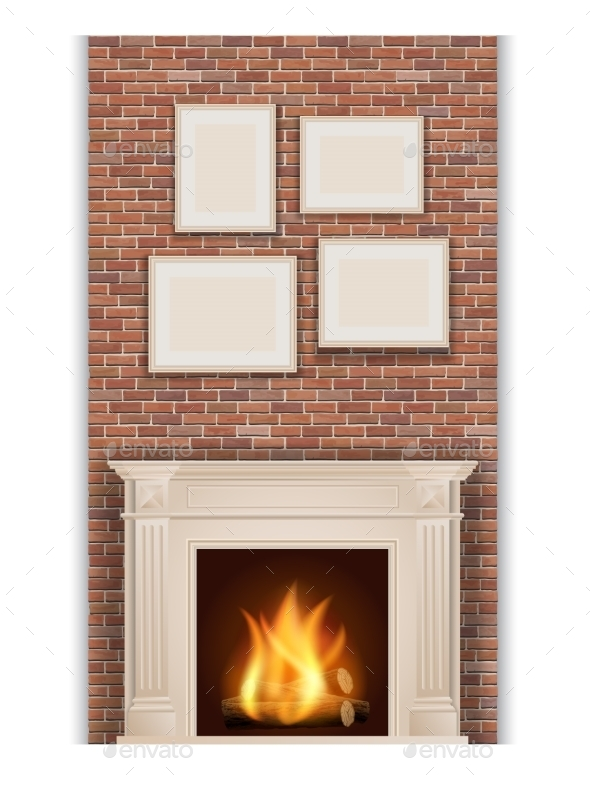 GraphicRiver Classic Fireplace 9593295