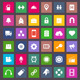 Vector Flat Icons Set 2