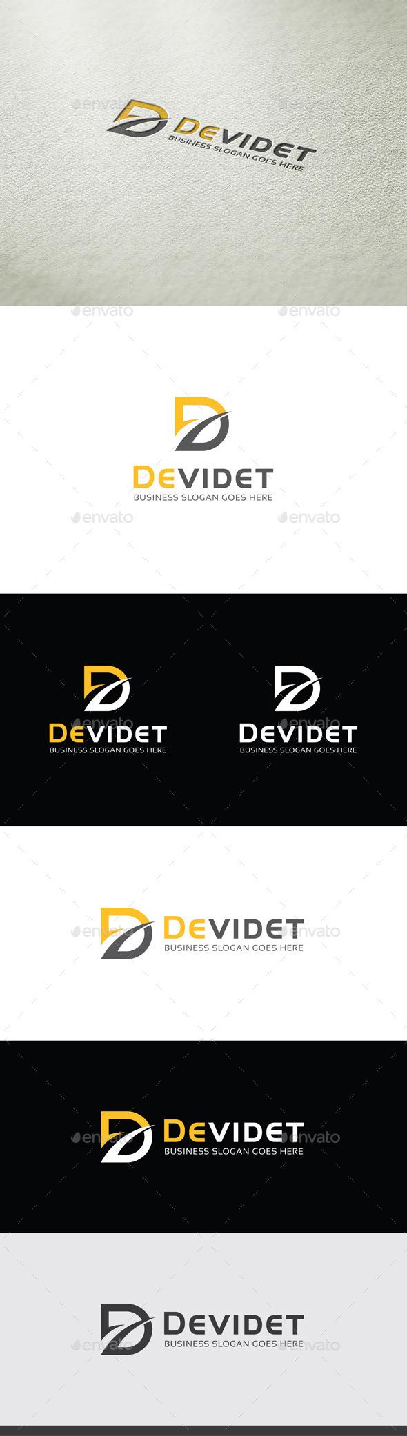 GraphicRiver Devidet D Letter Logo 9593684