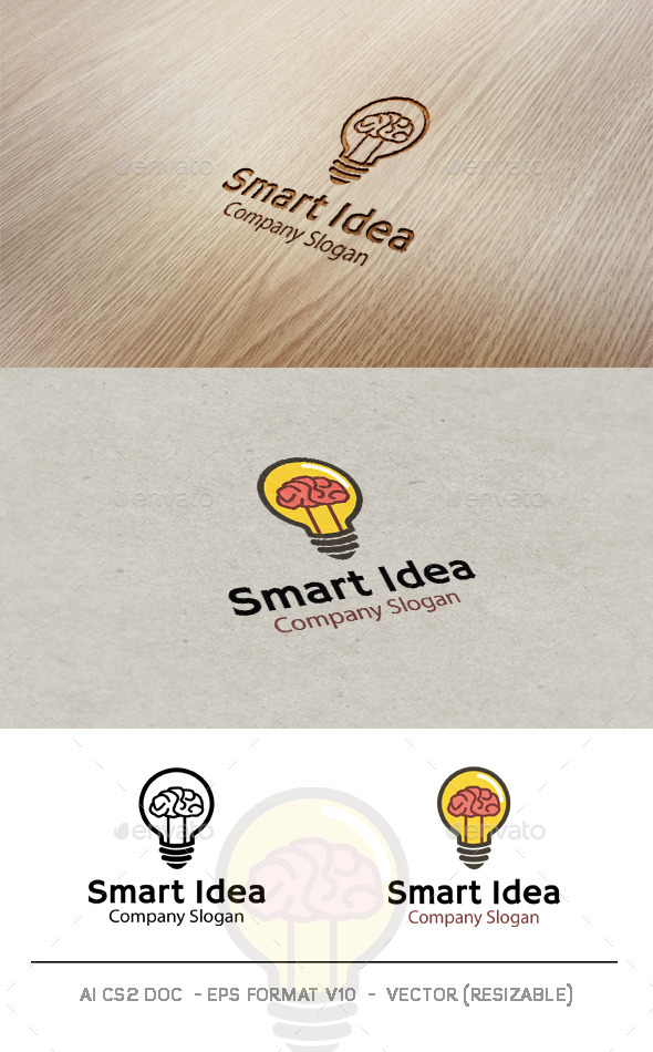 GraphicRiver Smart Idea Logo 9593753