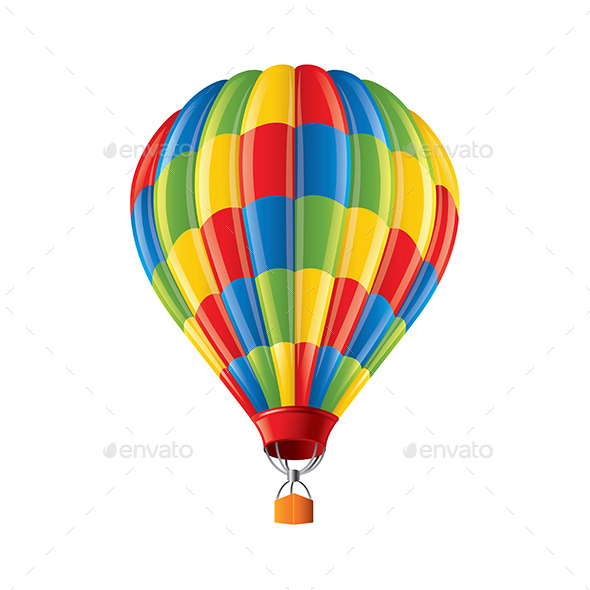 GraphicRiver Colored Balloon 9593829