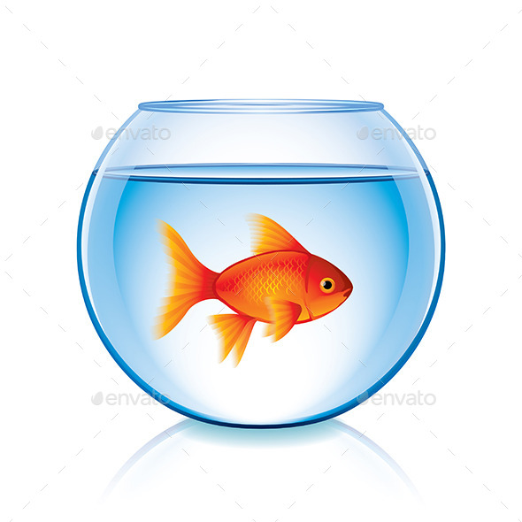 GraphicRiver Goldfish in Bowl 9593831