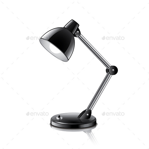 GraphicRiver Table Lamp 9593843