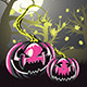 Scary Pumpkins in Forest - GraphicRiver Item for Sale