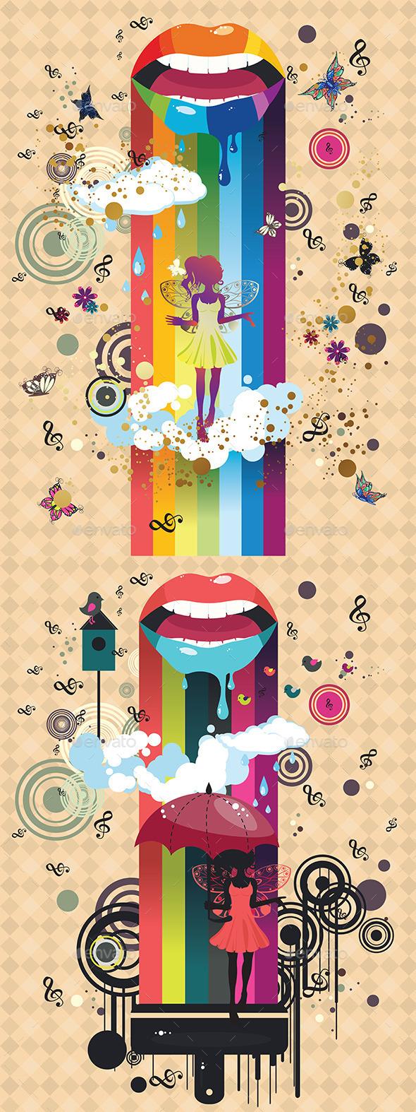 GraphicRiver Surreal Fairy 9593911