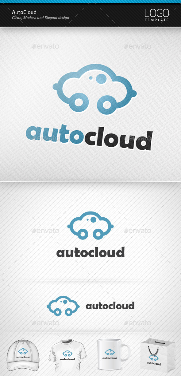 GraphicRiver AutoCloud Logo 9594113