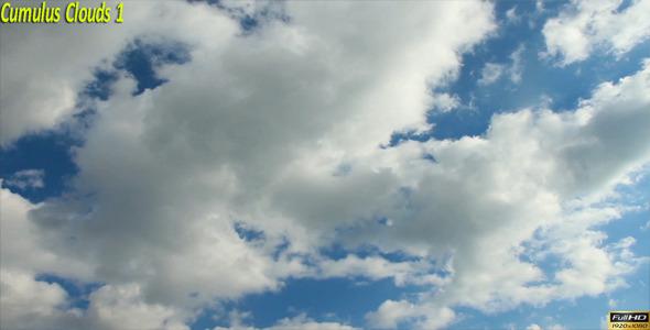 Cumulus Clouds 1
