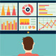 Analysis of Information on the Dashboard - GraphicRiver Item for Sale
