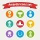 Set of Awards - GraphicRiver Item for Sale