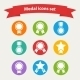 Award Icons Set - GraphicRiver Item for Sale
