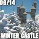 Winter Snow Fantasy Castle 09 - VideoHive Item for Sale