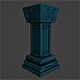 Low Poly Pillar - 3DOcean Item for Sale