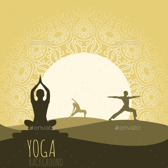 GraphicRiver Yoga Background 9595341