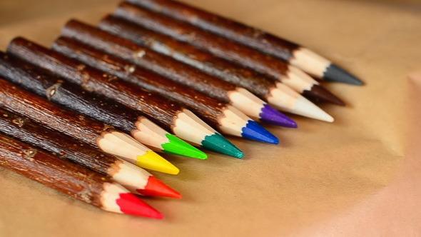 Natural Wood Color Pencil