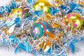 Christmas balls and garland - PhotoDune Item for Sale