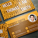 Personal Business Card - RA69 - GraphicRiver Item for Sale