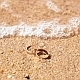 Wedding Rings in Sea Waves - VideoHive Item for Sale