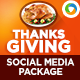 Thanksgiving Social Media Graphic Pack - GraphicRiver Item for Sale