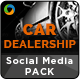 Car Dealership Social Media Graphic Pack - GraphicRiver Item for Sale